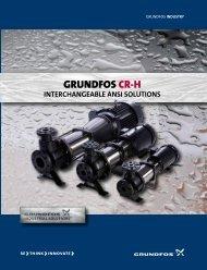 GRUNDFOS CR-H - Chemical Processing