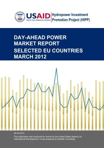 day-ahead power market report selected eu countries march 2012