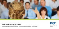 IFRS Update I/2013 - PKF