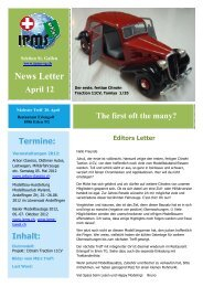 Newsletter April 2012 - Ipms-sg.ch