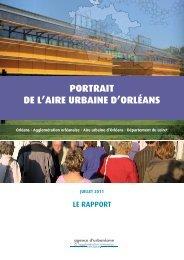 PortraIt de l'Aire UrbAine d'OrléAns - Apur