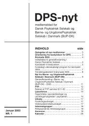 DPS september 2002.qxd - Dansk Psykiatrisk Selskab