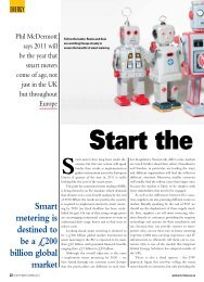 Smart metering is destined to be a £200 billion global market