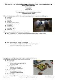 Creative Teaching Ideas for the History Classroom - HTAV