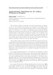 Approximation Algorithms for Art Gallery Problems in Polygons