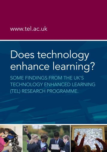 technology in teaching and learning in While acknowledging the continuing need to provide greater equity of access to technology itself, the plan goes further to call upon all involved in american education to ensure equity of access to transformational learning experiences enabled by technology the principles and examples provided in this document align to the activities to.