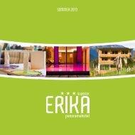 Sommerpreisliste als PDF - Hotel Erika