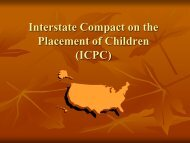 The ICPC tutorial - A Family For Every Child