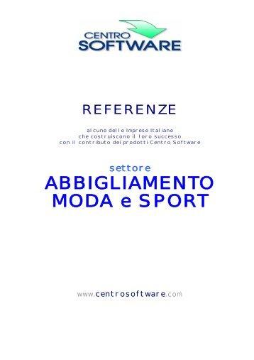 ABBIGLIAMENTO MODA e SPORT - Centro Software