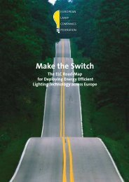 Make the Switch - European Lamp Companies Federation