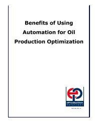 Benefits of Using Automation for Oil Production Optimization