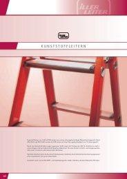 Kunststoffleitern - Iller-Leiter