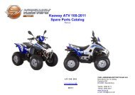 Keeway ATV 100-2011 Spare Parts Catalog - Carl Andersen ...