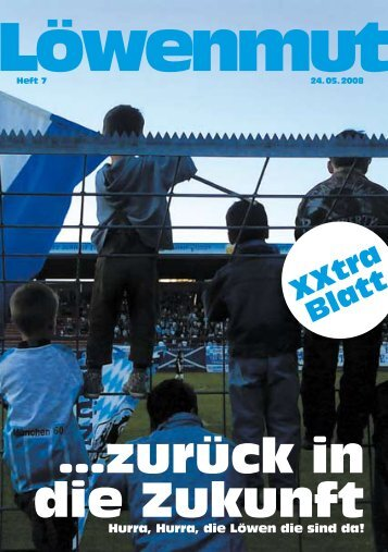 …zurück in die Zukunft - das Fanzine