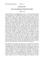 Kapitel IV Gautama Buddhas geheime Lehre II Seite 010-011