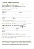Booking - DrugScope - Page 2