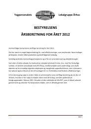 Bestyrelsens skriftlige beretning - Lokalgruppenaarhus
