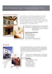 Hotelempfehlungen - TEAM CONNEX AG