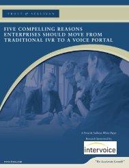 Five Compelling Reasons Enterprises Should Move ... - Convergys