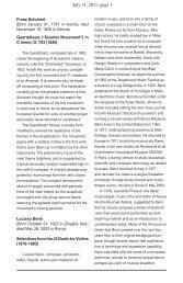 July 31, 2011, page 1 - Bridgehampton Chamber Music Festival