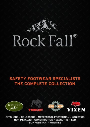 safety footwear specialists the complete collection - Rock Fall UK