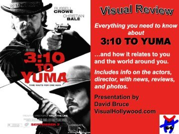 3:10 TO YUMA - Visual Hollywood