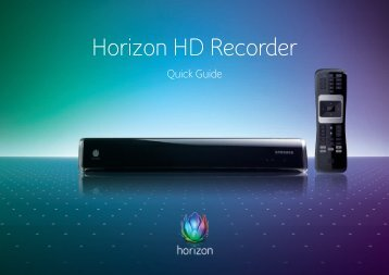 Horizon HD Recorder
