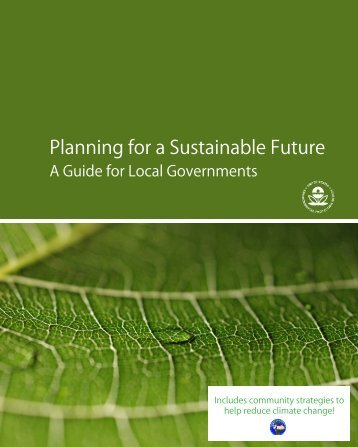 Planning for a Sustainable Future - US Department of the Interior