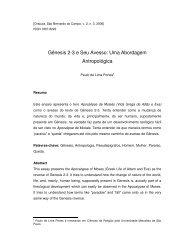 Gênesis 2-3 e Seu Avesso: Uma Abordagem Antropológica - Oracula