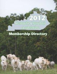 Kentucky Charolais Association Membership - American ...