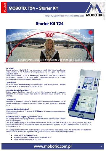 Starter Kit T24 MOBOTIX T24 – Starter Kit