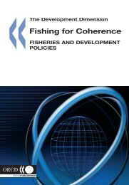 OECD 2006 Fishing for coherence - Fisheries and development ...