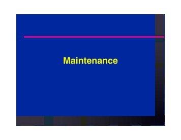 Maintenance - Aquatic Consulting Services