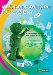 Consommer en 2010 - L'Observatoire Cetelem
