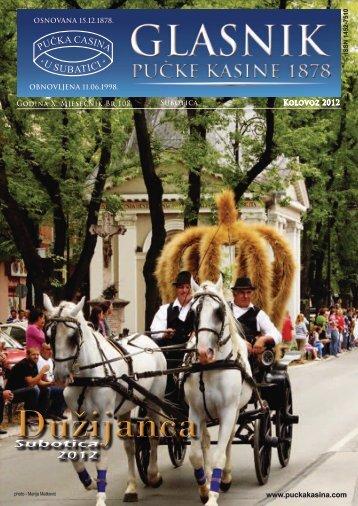 108 Kolovoz 2012 - Pučka Kasina 1878