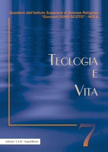 Teologia e Vita - Diocesi di Nola