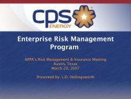 Enterprise Risk Management Program