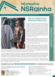 Informativo semanal_624 (1).pdf - PARóQUIA NOSSA SENHORA ...