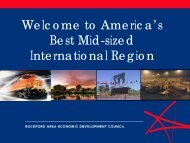 Welcome to America's Best Mid-sized International Region