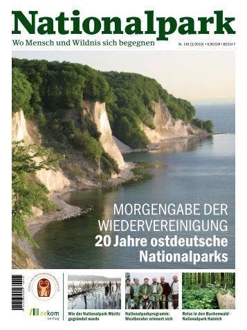 Wildnis wagen! 20 Jahre Nationalparks in Ostdeutschland - Michael ...
