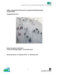 ANED – Academic Network of European Disability Experts