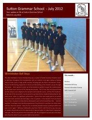 sgs newsletter july 2012.pub (Read-Only) - Sutton Grammar School