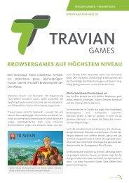Browsergames auf höchstem Niveau - Travian Games