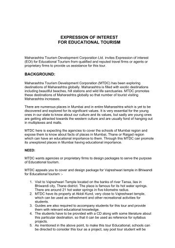 Invitation of expression of interest eoi cii national mtdc invites expression of interest eoi for educational tourism thecheapjerseys Images