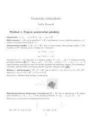 Wykłady z geometrii różniczkowej