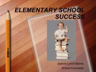 ELEMENTARY SCHOOL SUCCESS
