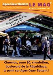 Journal de projet n°4 - Ville d'Agen
