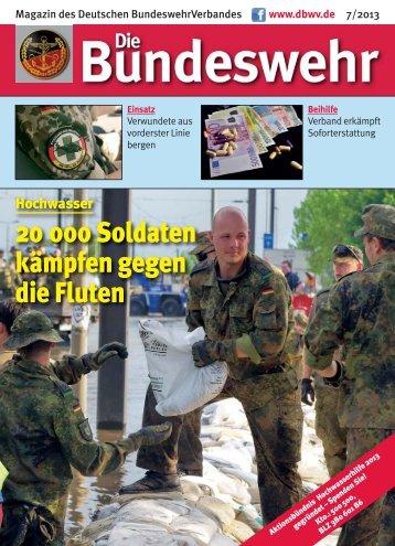 20 000 Soldaten kämpfen gegen die Fluten - Foeg.de