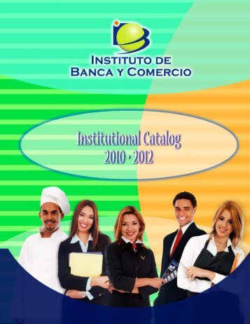 CATA ING REV 8/08 [LARGO] - Instituto de Banca y Comercio