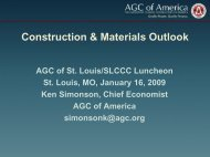 Construction & Materials Outlook - the St. Louis Council of ...